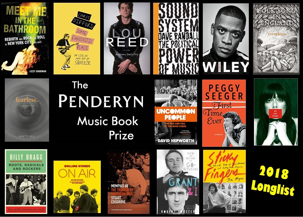 Penderyn Prize Longlist 2018