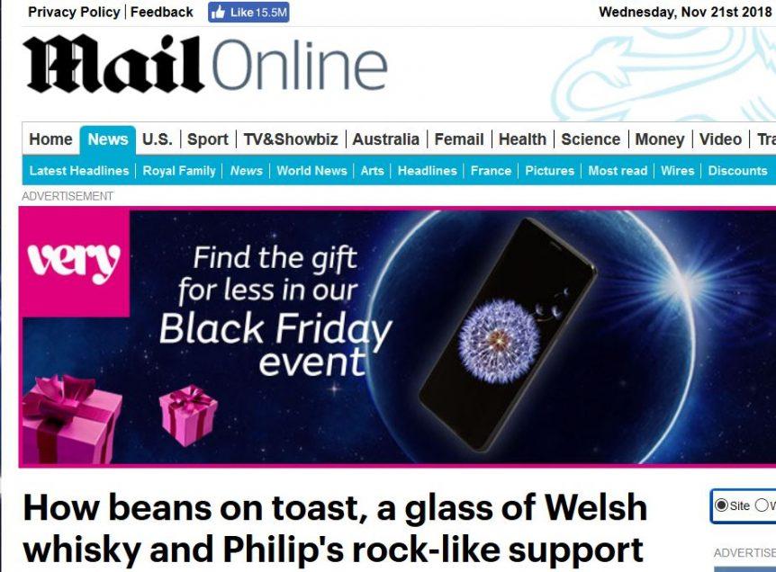 Daily Mail Theresa May Penderyn