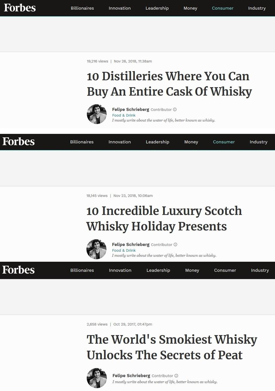 Forbes Penderyn