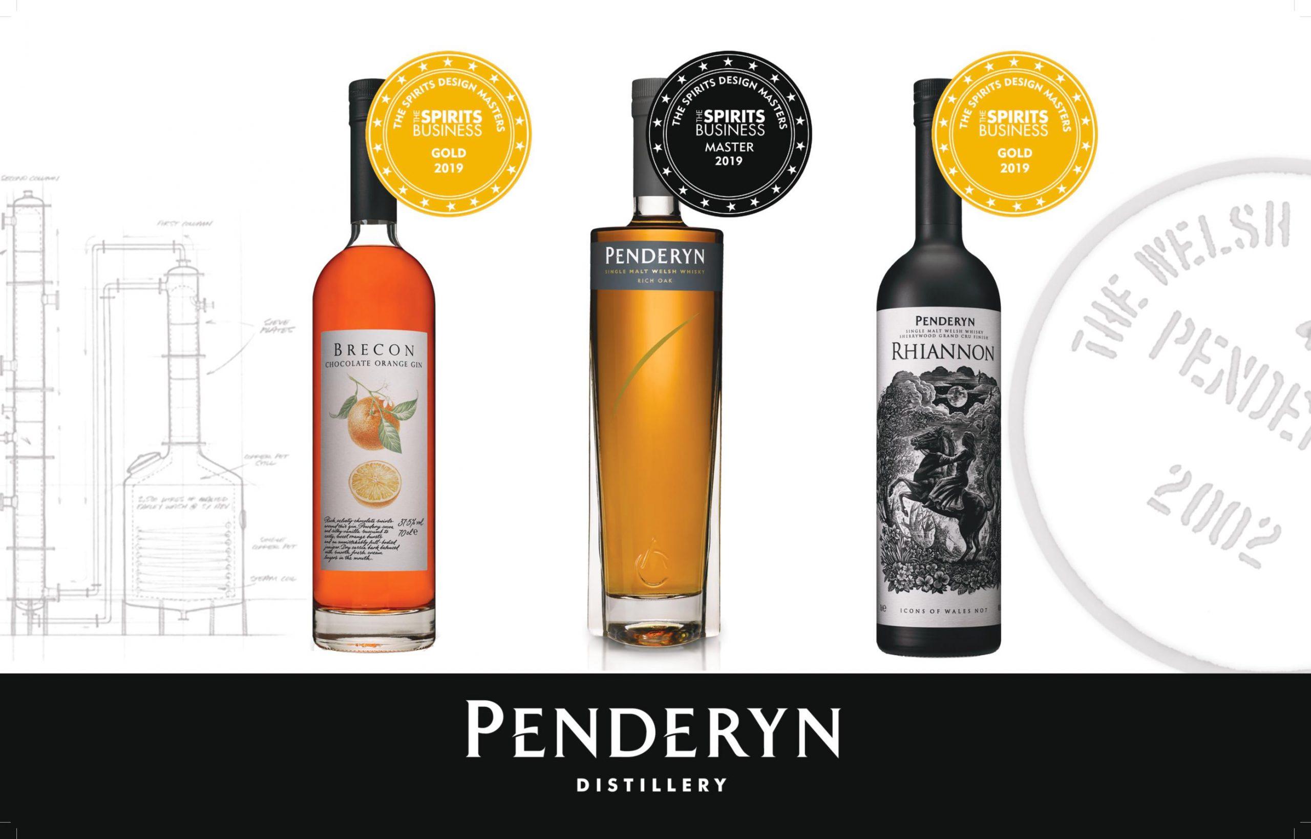 Spirits Business Penderyn Design
