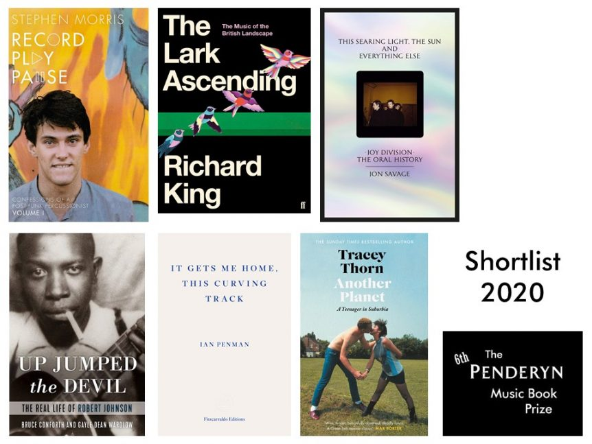 Penderyn Prize Short List Books 2020