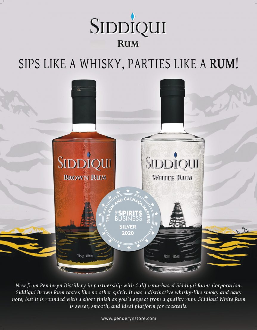 Siddiqui Rums Spirit Business Rum Masters Silver