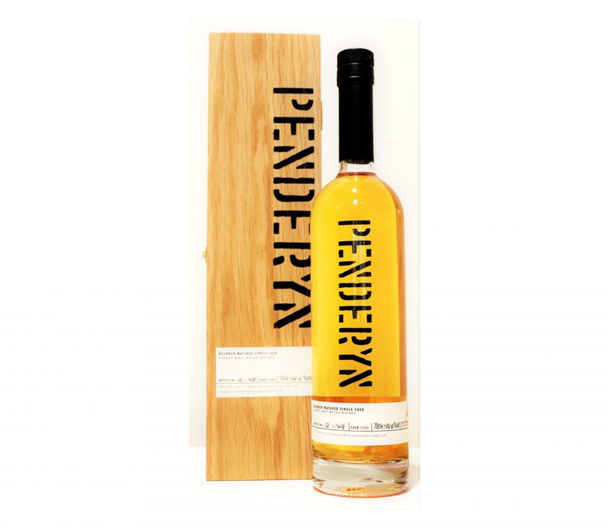 Penderyn Bourbon Matured Single Cask