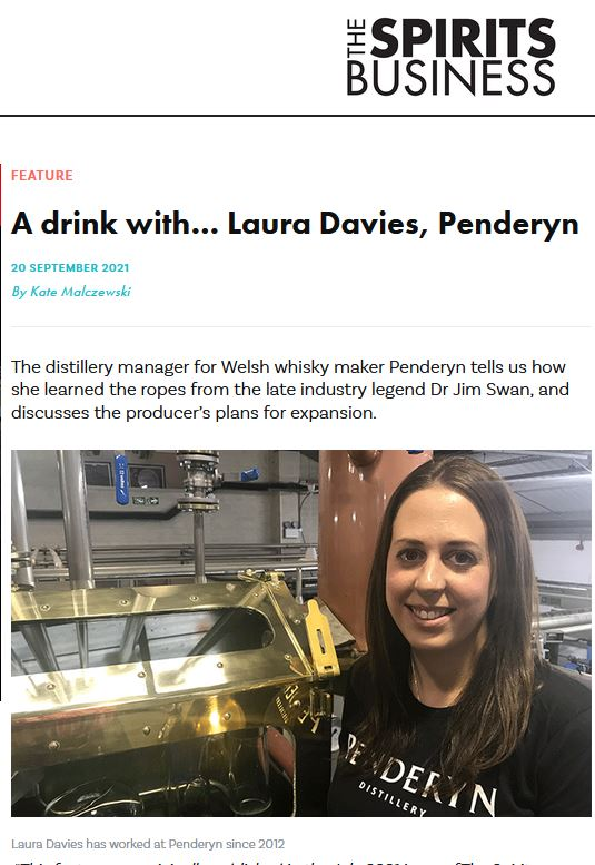 Penderyn's Laura Davies