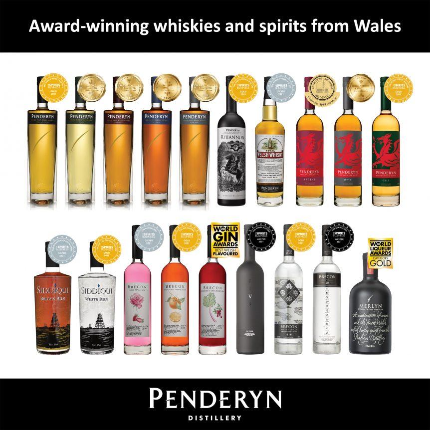 Penderyn's Latest Awards